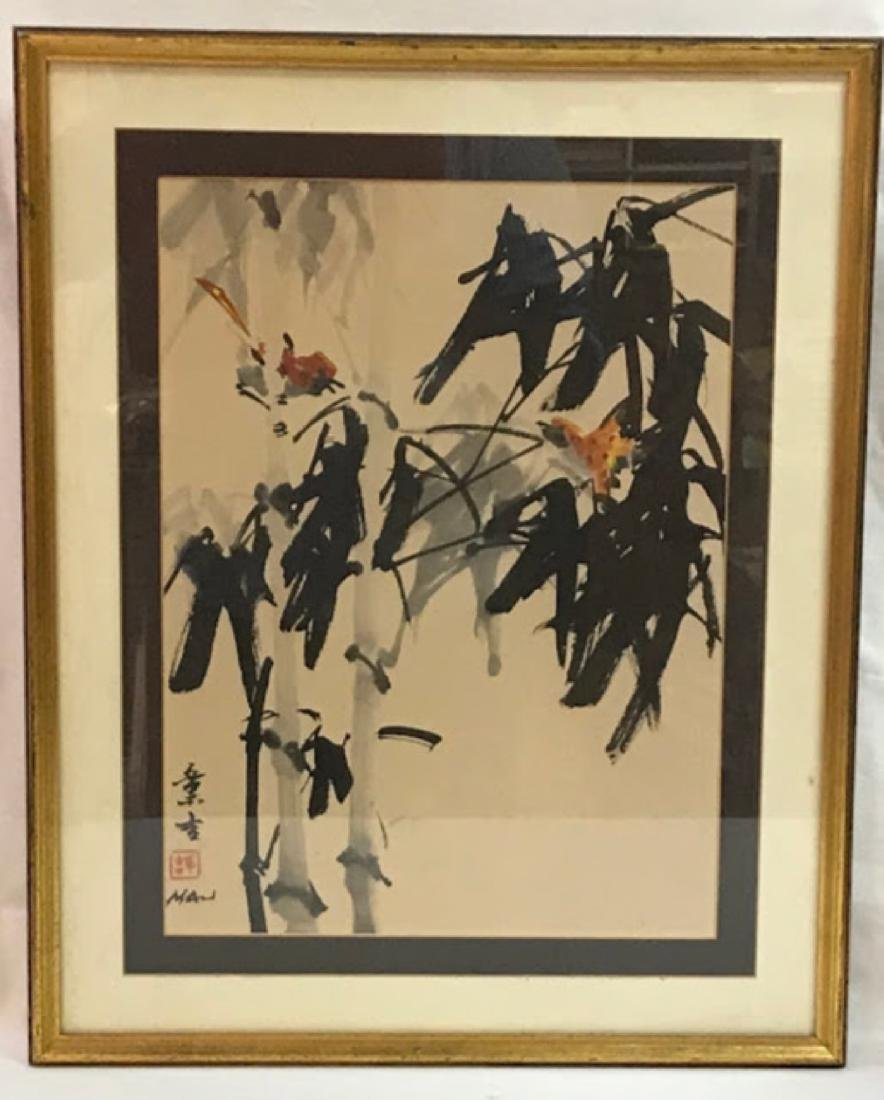 Original chinise watercolor signed