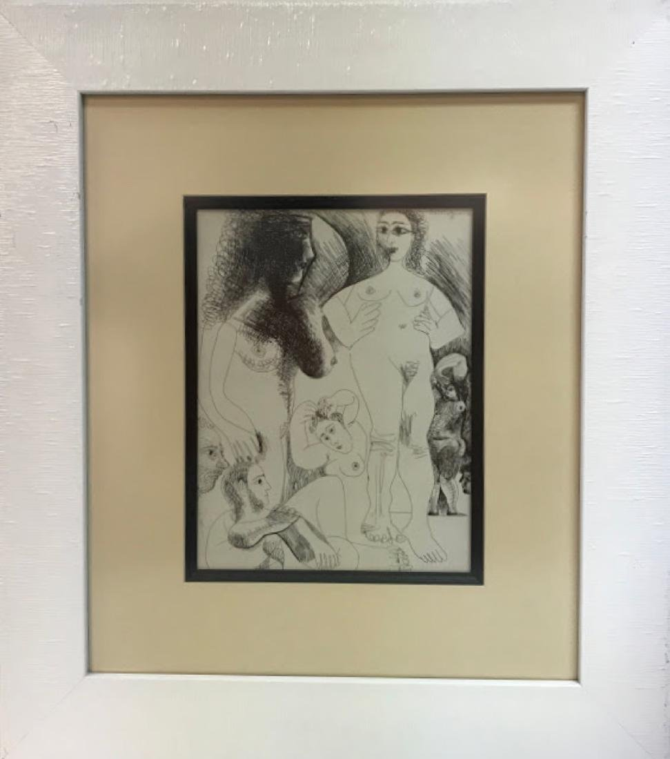 Vintage Lithograph from the Original