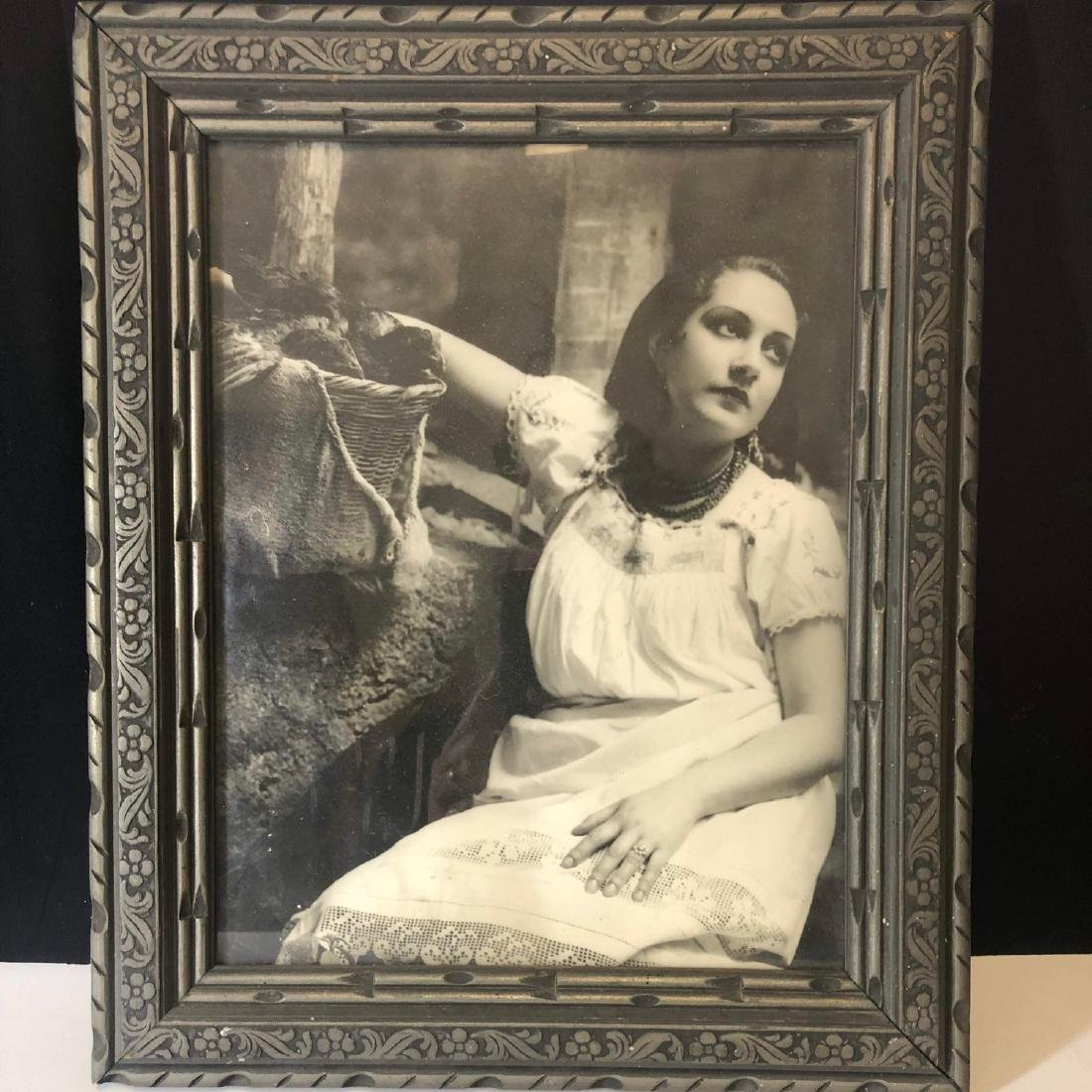 Vintage 1930 art deco photo frame
