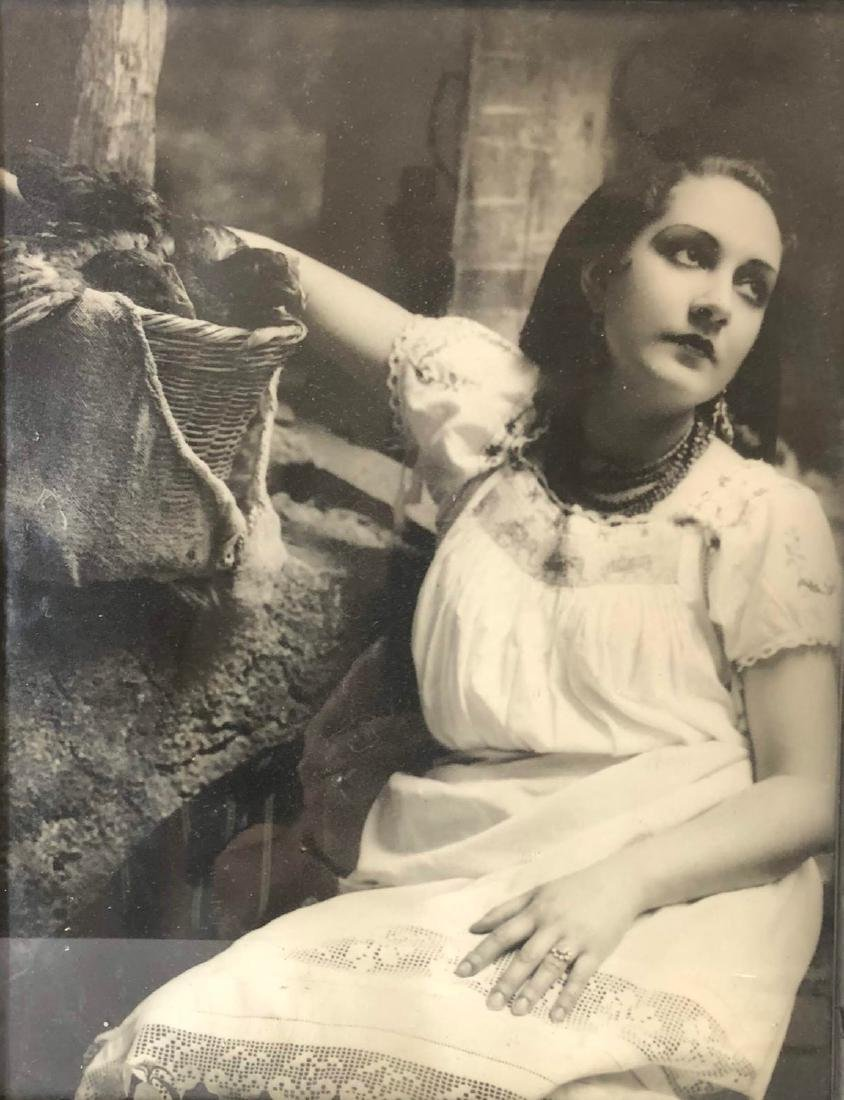 Vintage 1930 art deco photo frame - 2