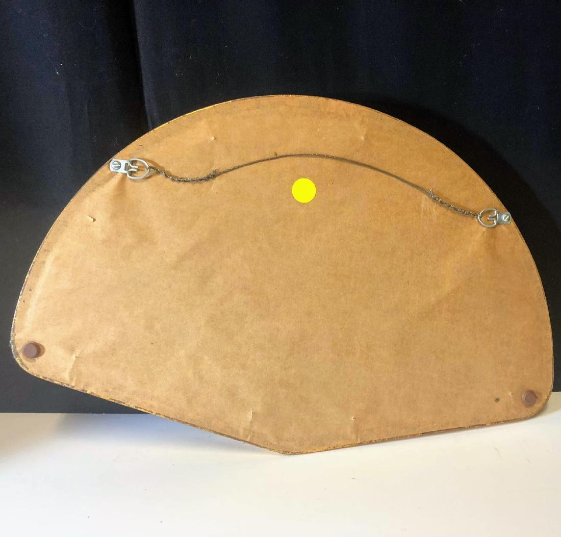 Vintage tortoise shell fan with framed - 3