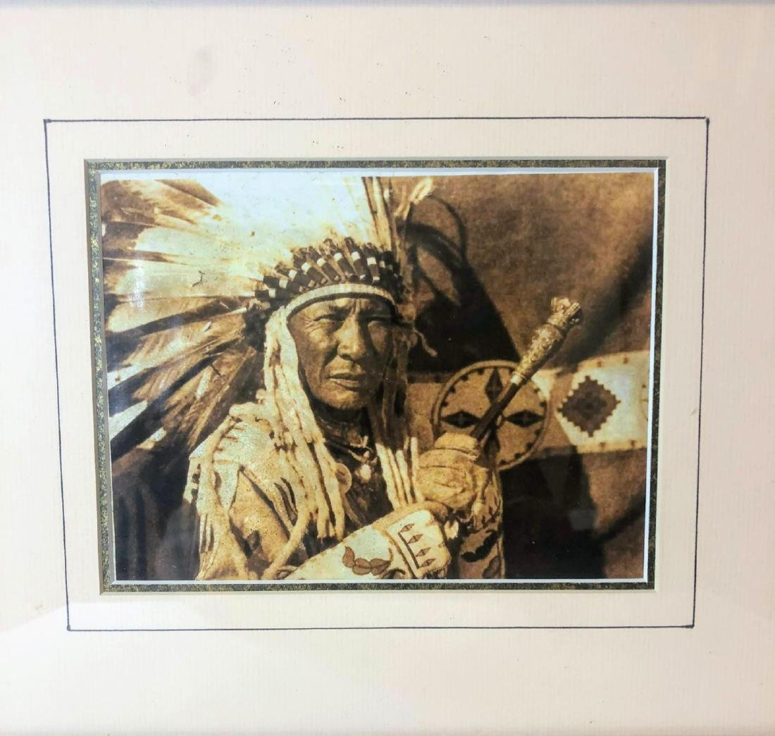 Vintage ,Old Photos of Native American - 2