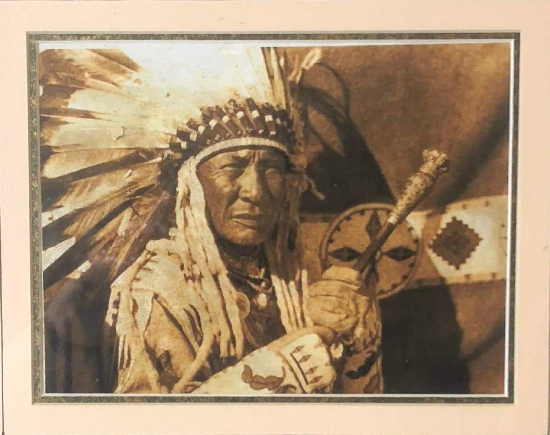 Vintage ,Old Photos of Native American - 3