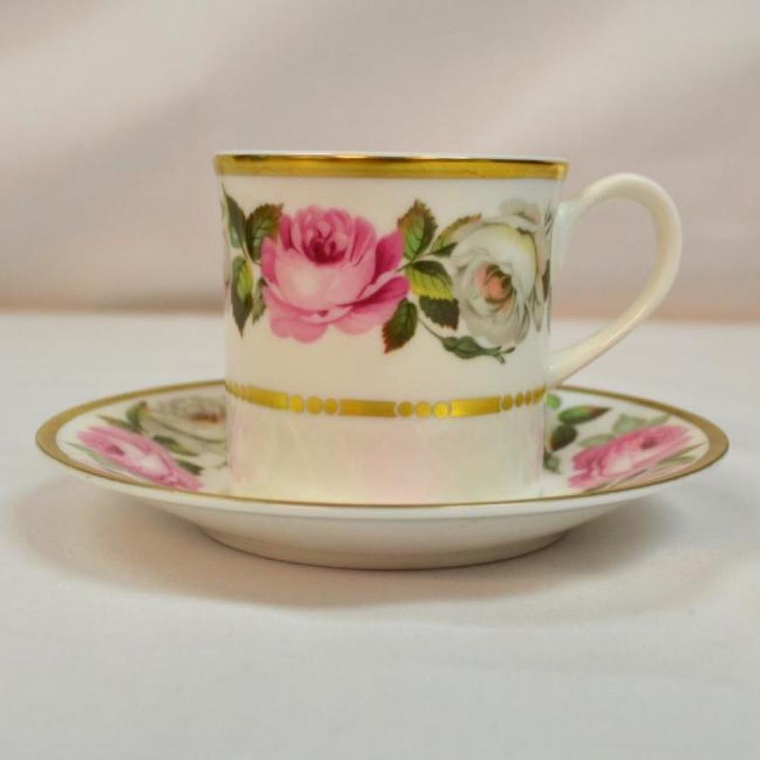 Royal Worcester Antique Bone China Coffee Cup