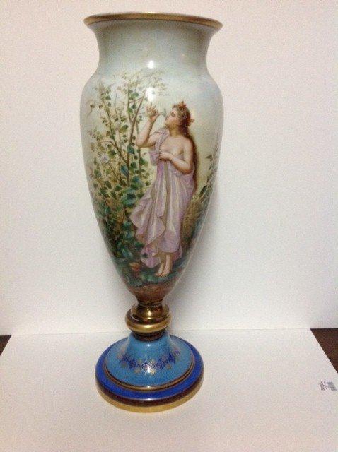 Antique Opaline Vase