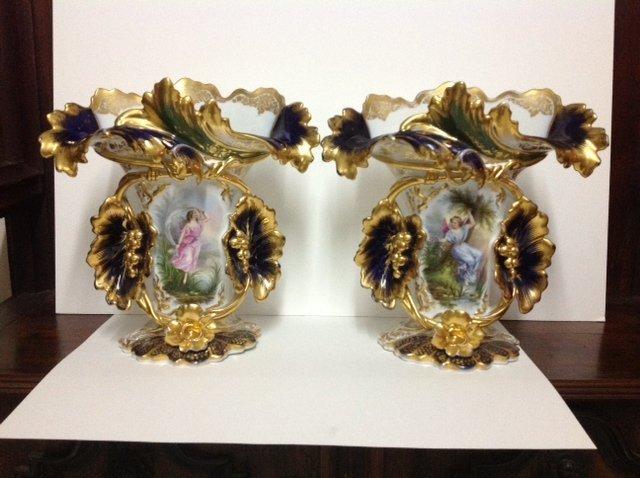 Paris Porcelain Vases
