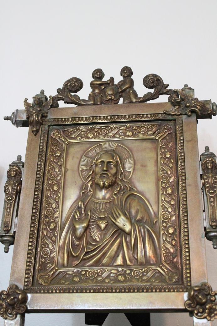 Bronze Plaque of Jesus Christ