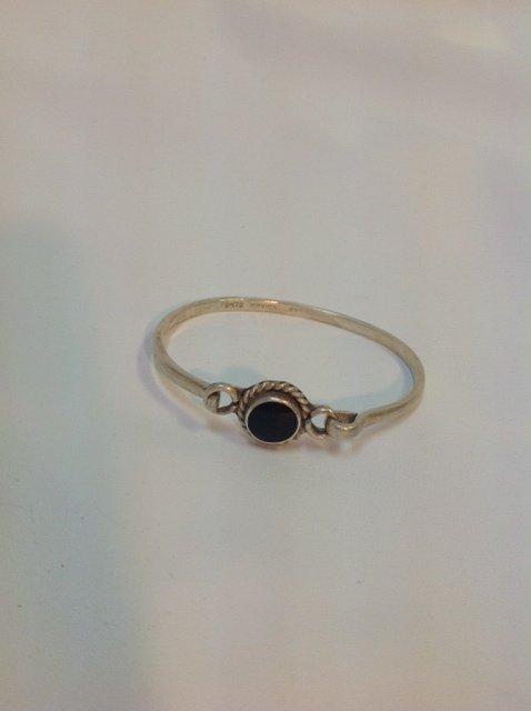 Vintage Silver Clasp Bracelet