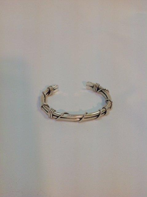 Braided Sterling Silver Cuff