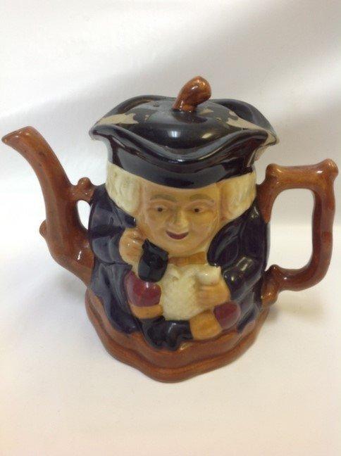 English Staffordshire Toby Shorter & Son Teapot