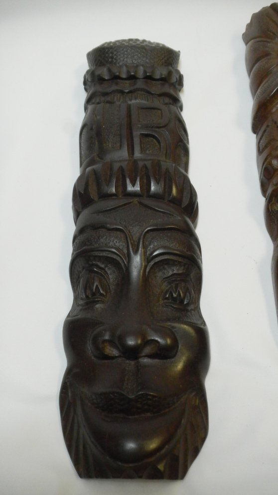 Wooden Cuban Masks - 2