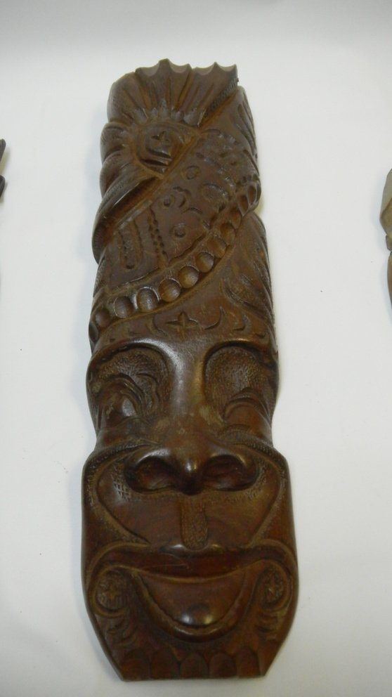 Wooden Cuban Masks - 3