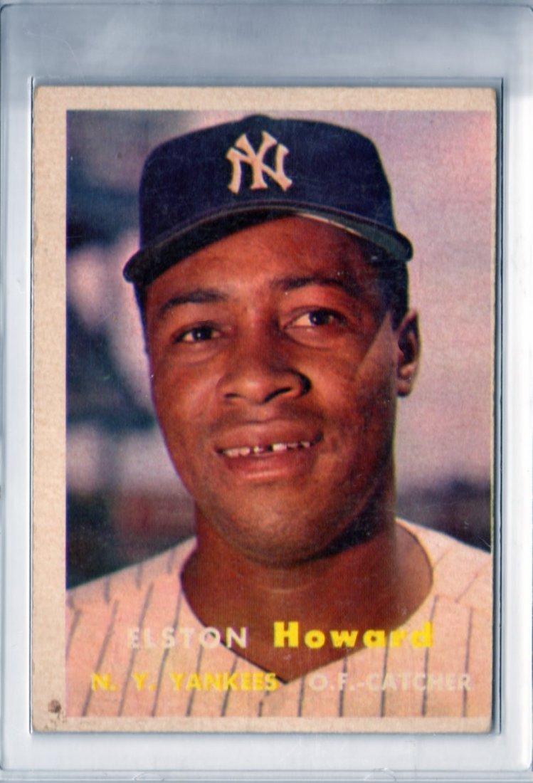 1957 Elston Howard Topps #82