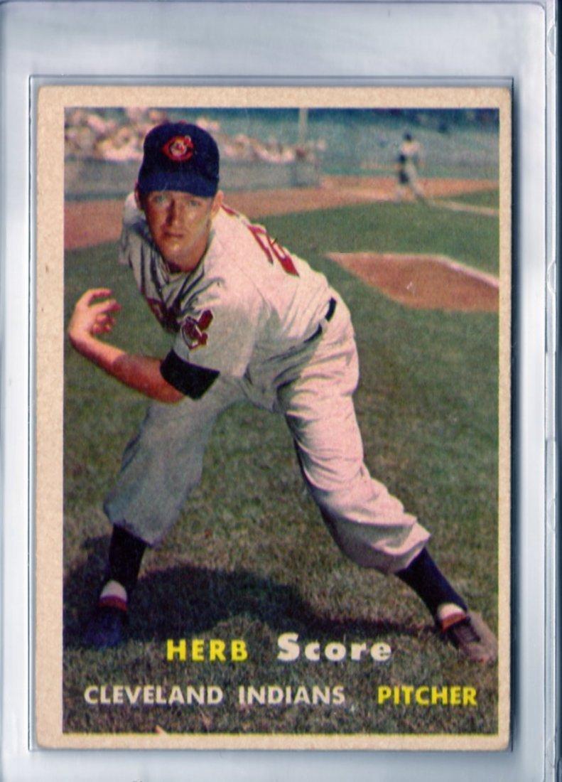 1957 Herb Score Topps #50