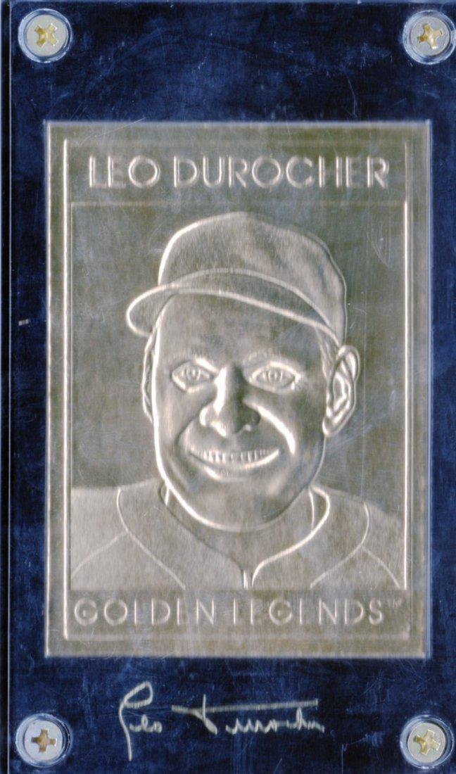 Leo Durocher Golden Legends #GL17 Serial # 001103