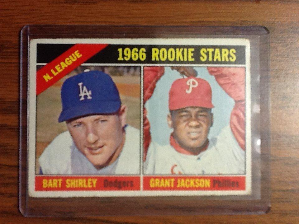 1967 N. League 1966 Rookie Stars #591 Topps - Bart Shir