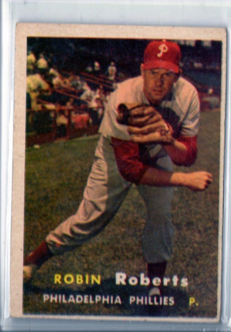 1957 Robin Roberts Topps # 15