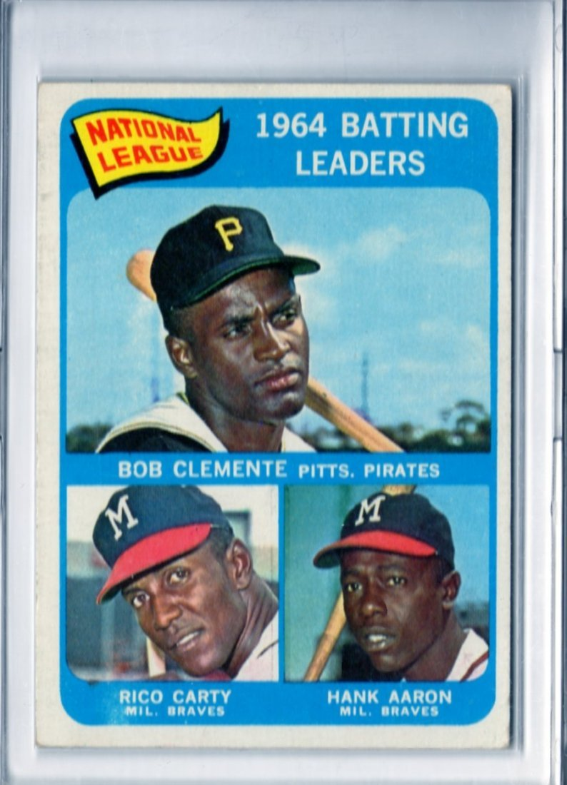 1964 National League Batting Leaders Topps #2