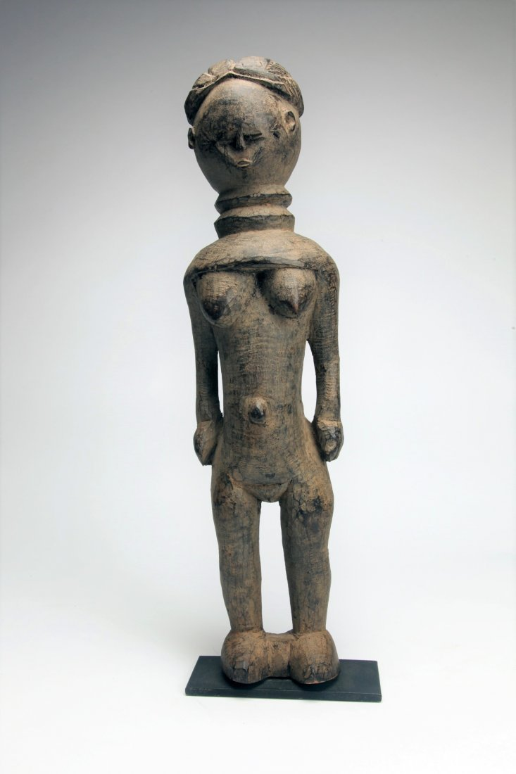 Early African Wood Female Figure