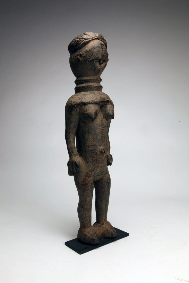 Early African Wood Female Figure - 2