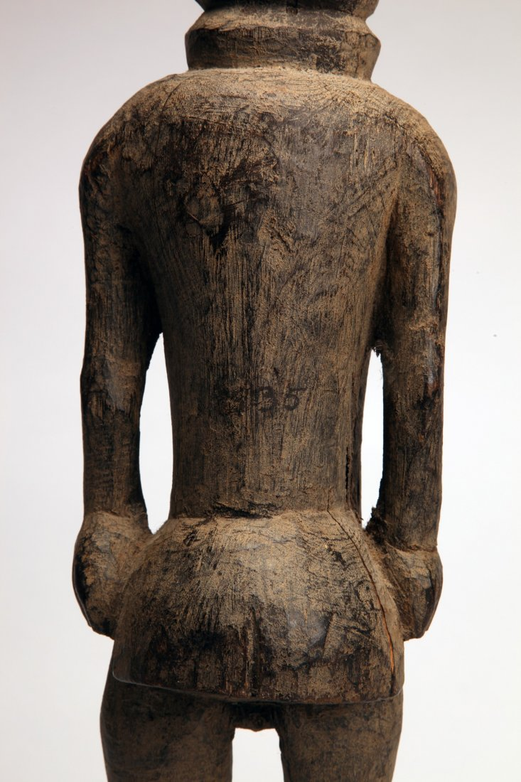 Early African Wood Female Figure - 5