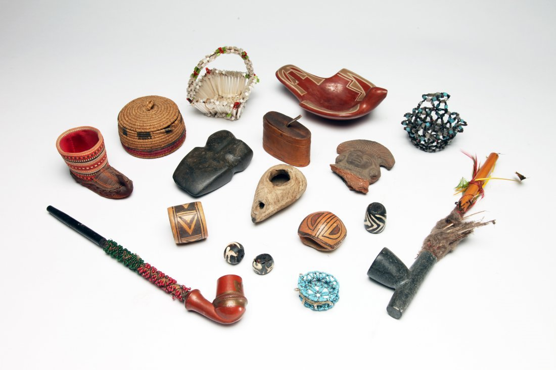 Large Group of Ethnographic Objects
