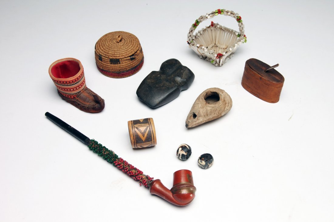 Large Group of Ethnographic Objects - 2
