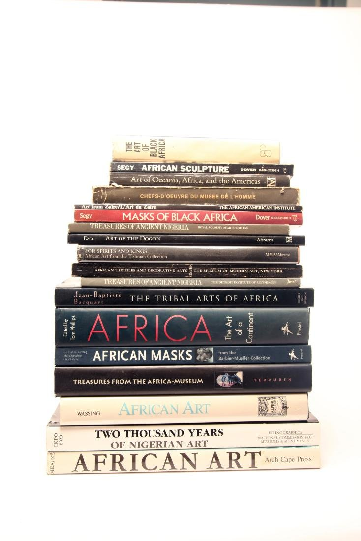 Group of African Art Reference Books