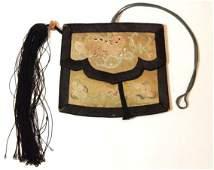 Antique Chinese Silk Purse