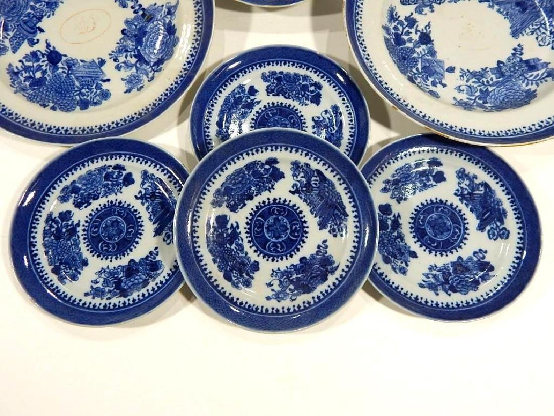 Group of Fitzhugh Chinese Export Porcelain - 2