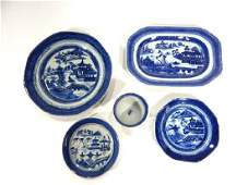 Group Chinese Canton Porcelain