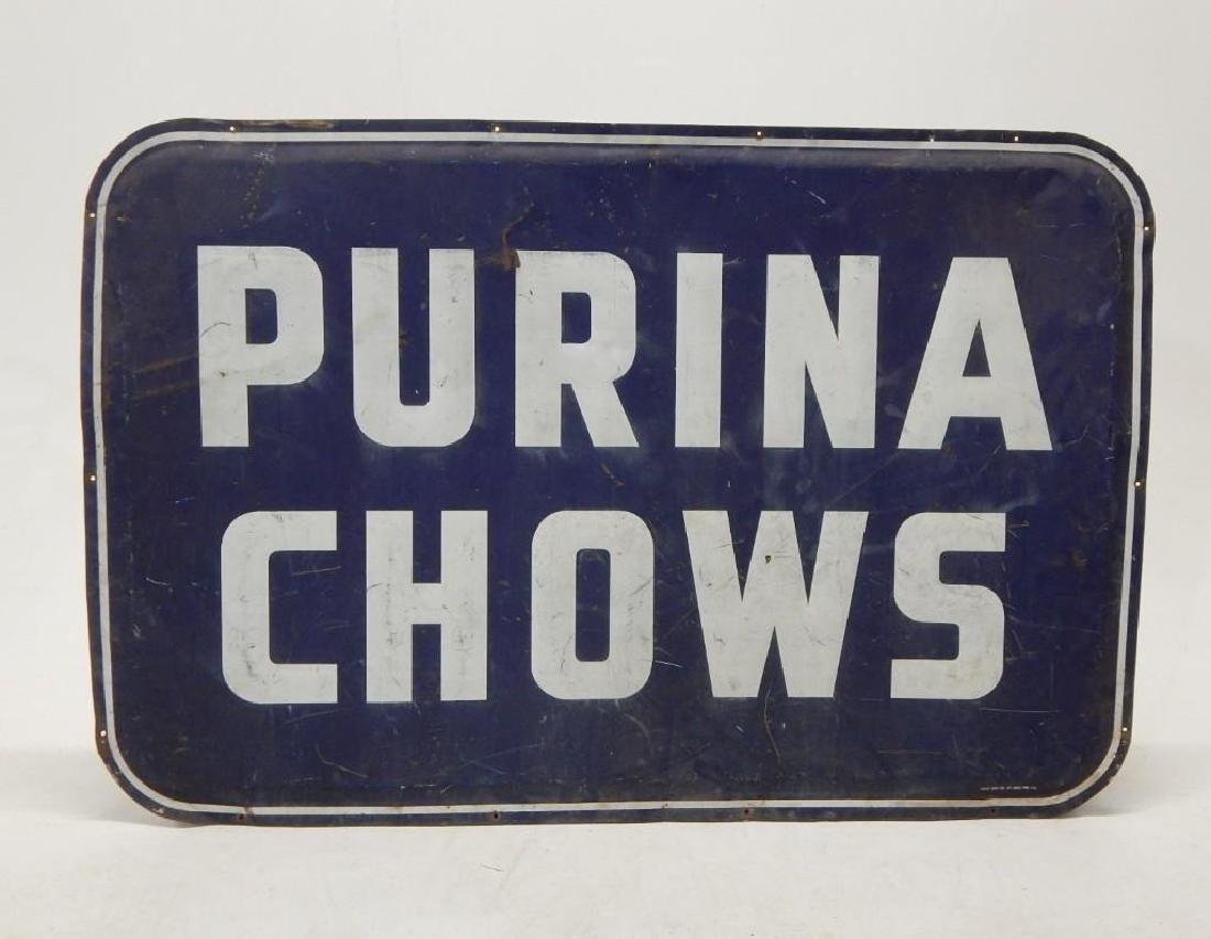 Large Purina Chows Advertising Sign