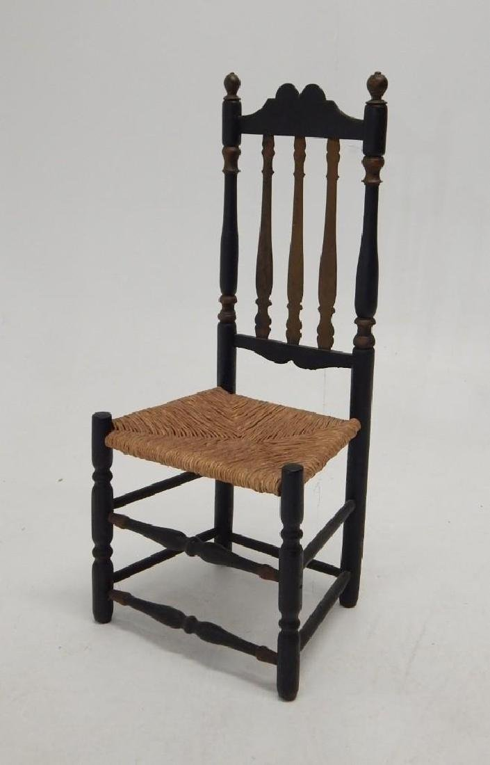 Early Bannister Back Chair