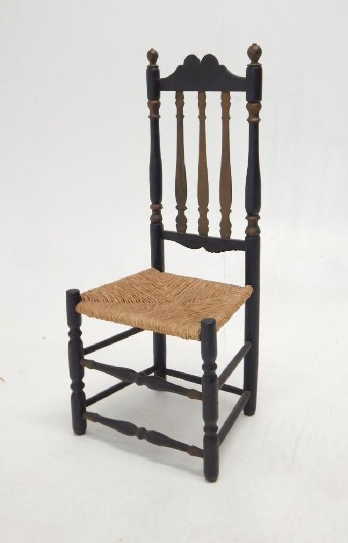 Early Bannister Back Chair - 2