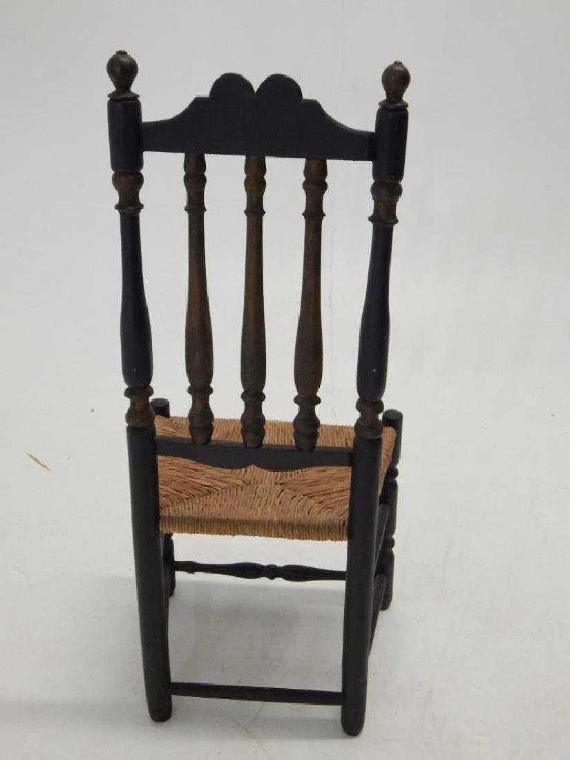 Early Bannister Back Chair - 4