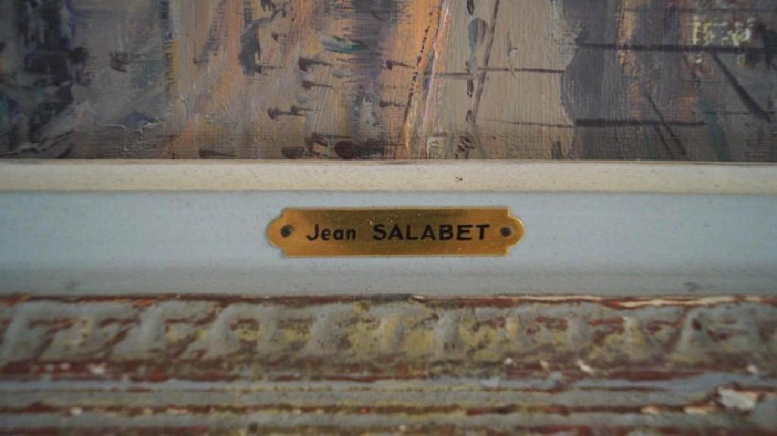 Jean Salabet Parisian Street Scene - 4