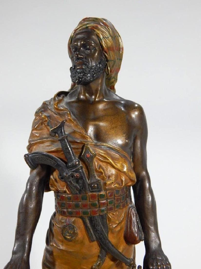 Austrian Cold Painted Bronze of Ottoman Warrior - 2