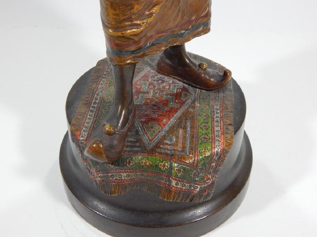 Austrian Cold Painted Bronze of Ottoman Warrior - 3