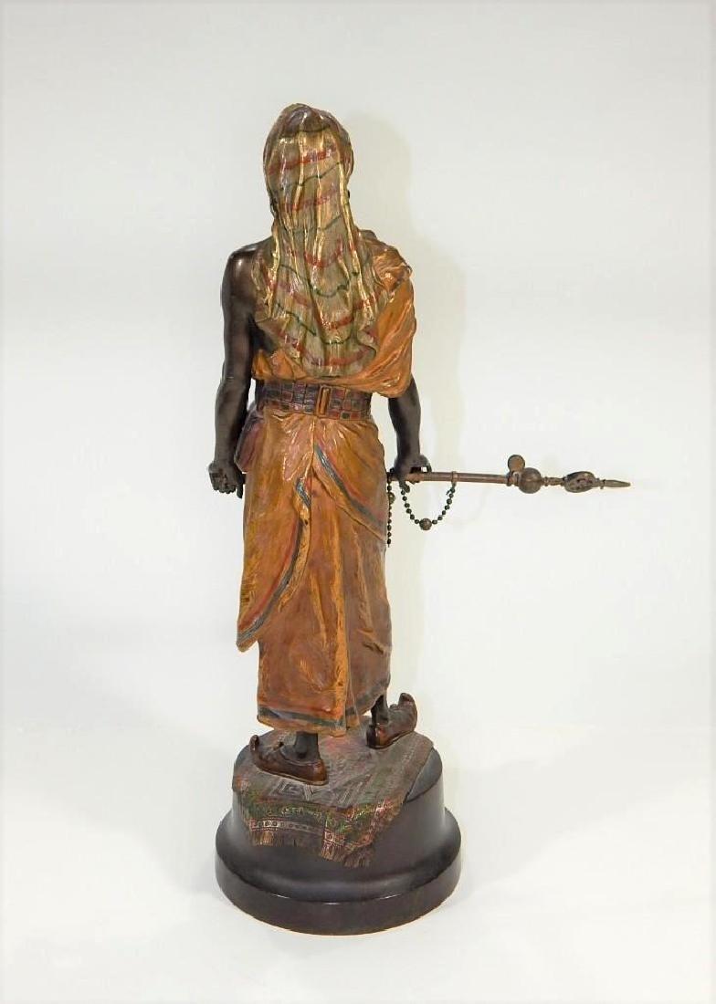 Austrian Cold Painted Bronze of Ottoman Warrior - 4