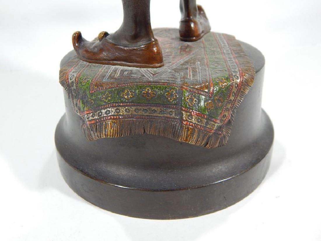 Austrian Cold Painted Bronze of Ottoman Warrior - 5