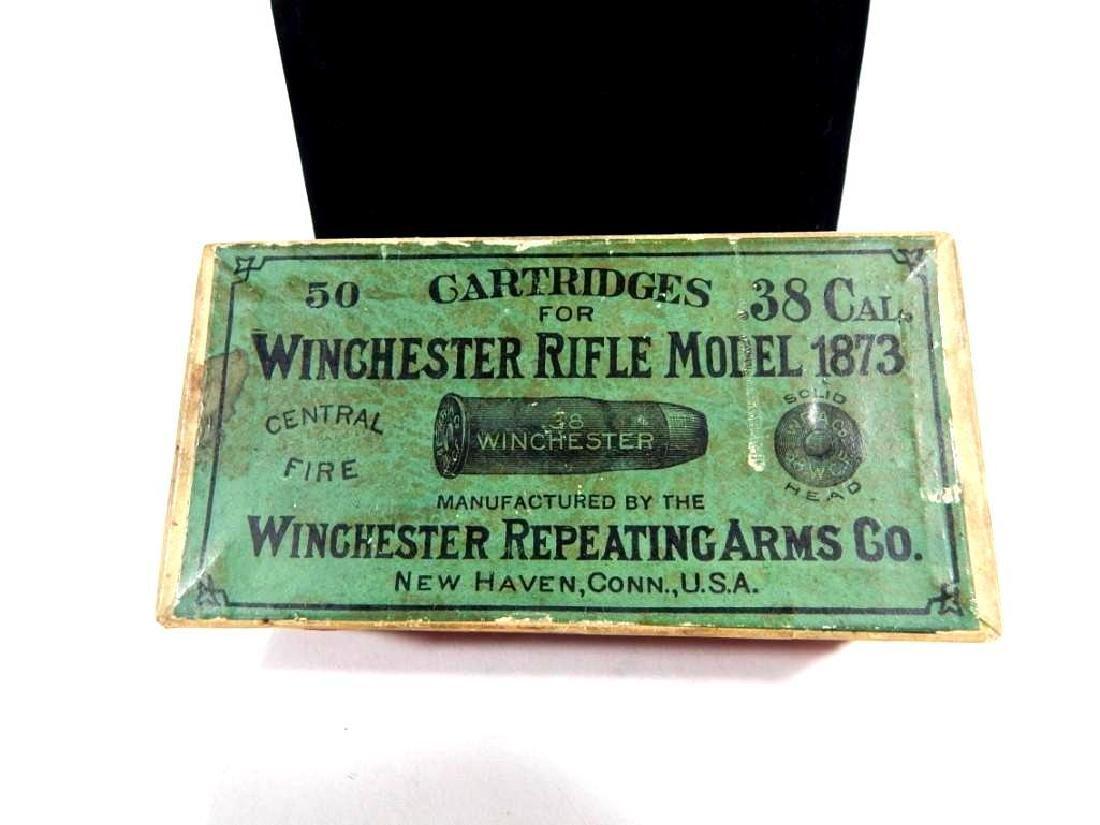 Rare Winchester Model 1873 .38 Cal Full Ammo Box