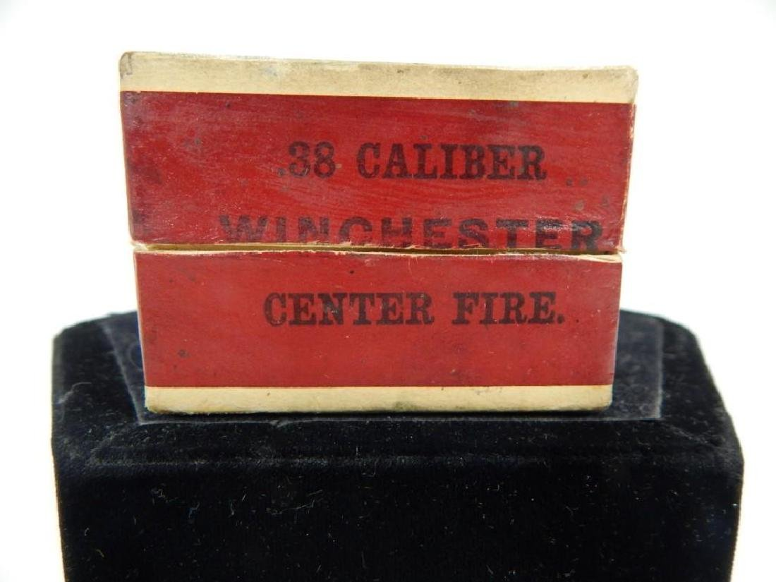 Rare Winchester Model 1873 .38 Cal Full Ammo Box - 3