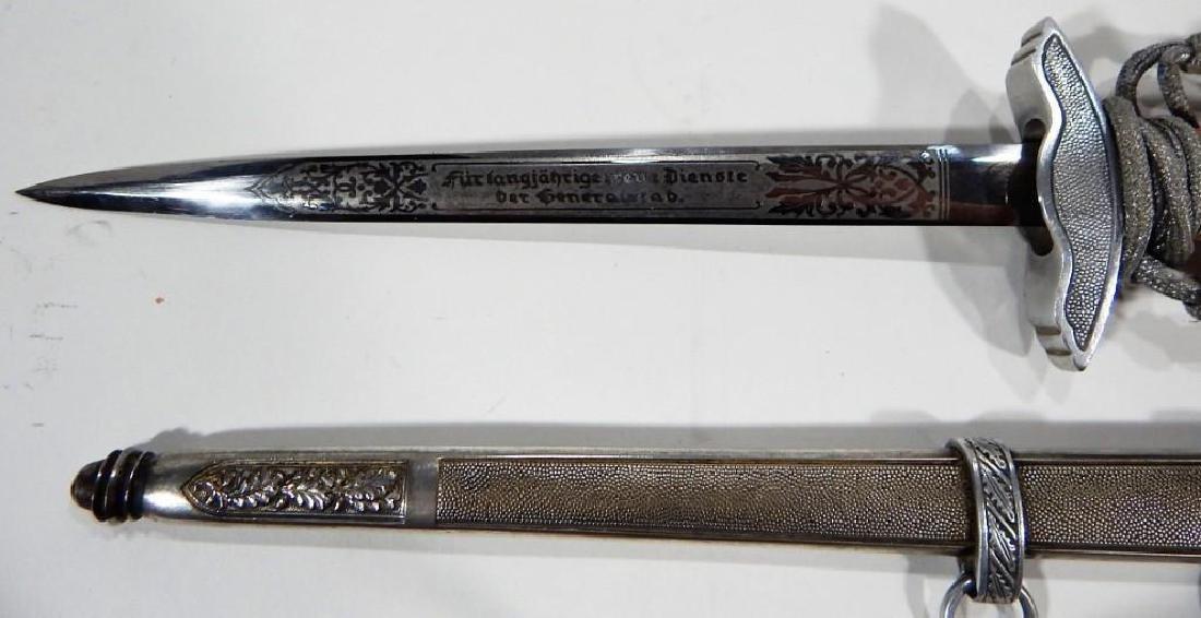 Clemen & Jung German 2nd Model Luftwaffe WWII Dagger - 7