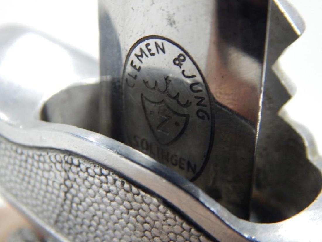 Clemen & Jung German 2nd Model Luftwaffe WWII Dagger - 9