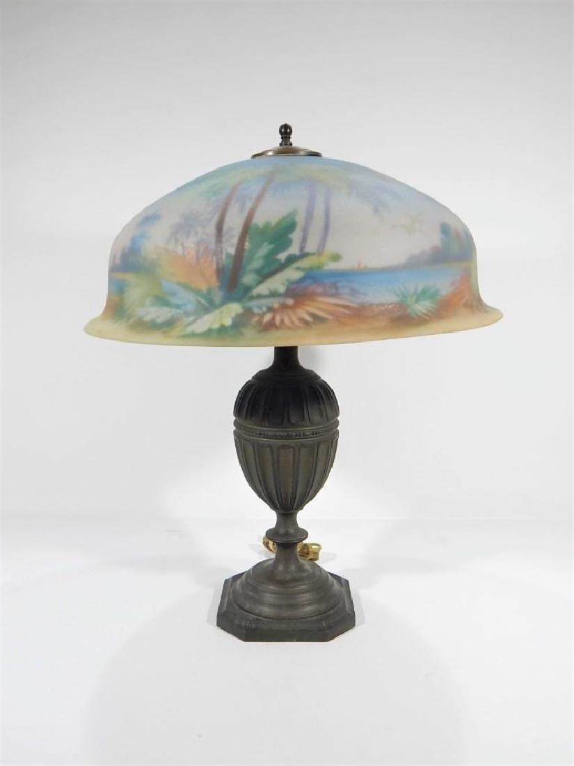 Pairpoint Berkley Treasure Island Table Lamp