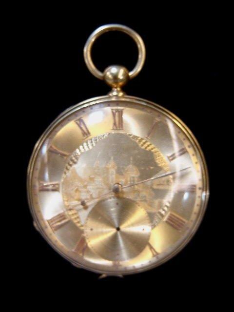 2: Antique Gold Huguenin & Jacob Pocket Watch