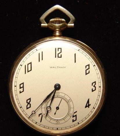 4: Waltham 14k Gold Pocket Watch