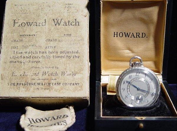 6: E Howard Pocket Watch