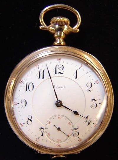 7: E. Howard Open Face Pocket Watch