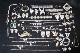 238: Large Selection Rhinestone Jewelry